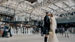 Gemma + John | Glasgow City Centre Cinematic Wedding Film | Grand Central Hotel