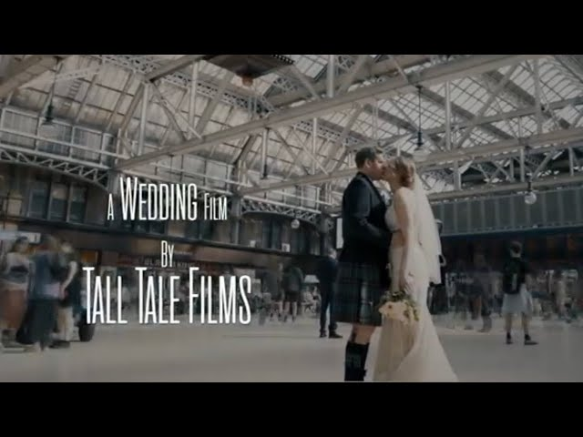 Gemma + John | Glasgow City Centre Cinematic Wedding Film | Grand Central Hotel | Tall Tale Films
