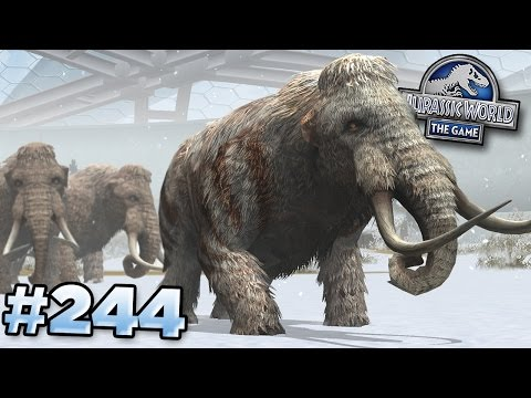 MAMMOTH UNLOCKED!! || Jurassic World - The Game - Ep244 HD