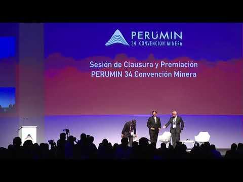 PERUMIN 34 #ENVIVO: CUMBRE MINERA 20/09 Clausura
