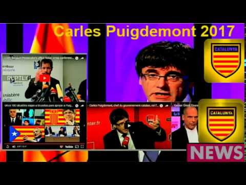 BRUSSELS Catalan Mayors Show Support, Allegiance to Carles Pudgimont - Nov 7 17 Speeches