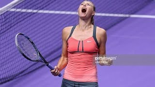 Maria Sharapova VS Victoria Azarenka 2012 YEC SF(Full)
