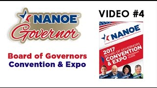 NANOE 2017 Board of Governors 2017 Convention and Expo