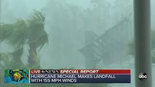 VIDEO: Hurricane Michael makes landfall as Category 4 storm