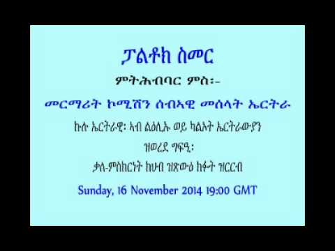pal smerrr 2014 11 15 un human rights enquiry commission on eritrea related discussion