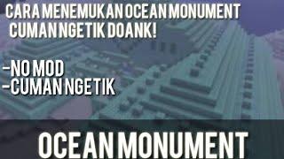 Cara Menemukan Ocean Monument | Minecraft Indonesia - Tutorial # 4