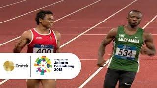 Lalu Muhammad Zohri Pastikan Diri Masuk ke Babak Final | Asian Games 2018