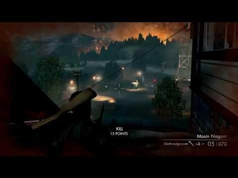 Sniper Elite V2 (PC) walkthrough -  Kopenick Launch Site