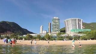 Гонконг - пешком на пляж. Repulse Bay Beach