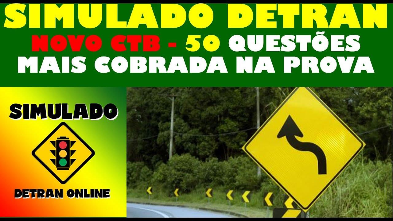 Download SIMULADO DETRAN 2021: COMO PASSAR NA PROVA,  50 QUESTÕES MAIS COBRADAS no DETRAN, Auto + Moto
