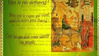 Dimanche des Rameaux-Semaine Sainte