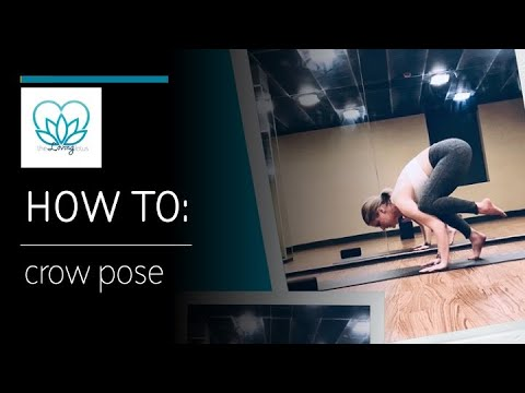 how to crow pose  youtube