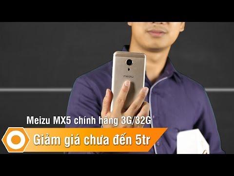 Meizu MX5 chính hãng 3Gb/32Gb - Giảm giá chưa tới 5 triệu