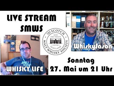 Ankündigung SMWS LIVE STREAM am Sonntag 27. Mai um 21 Uhr zusammen mit Whisky Life & WhiskyJason