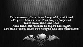 Avenged Sevenfold - The Fight [Lyrics on screen] [Full HD]