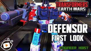 Transformers: Earth Wars - Defensor First Look