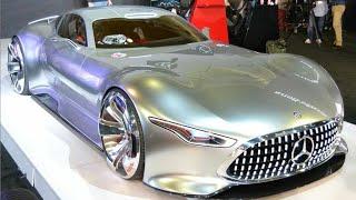 САМАЯ КРАСИВАЯ МАШИНА В МИРЕ. Mercedes Vision GT. Супер Блонда. Негенкарс