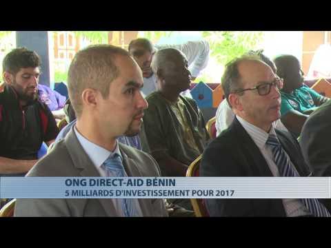 L'Ong Direct-Aid Bénin présente son plan d'actions 2017