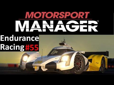 Motorsport Manager Lets Play #55 - Season 6 Race 4 - Endurance Gameplay