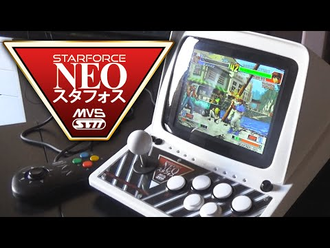Arcade Gaming on the STARFORCE NEO | Mini-NeoGeo MVS