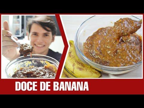DOCE DE BANANA (Doce Bananinha de colher) | Receita