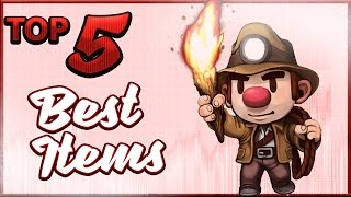 Top 5 Best Items In Spelunky!