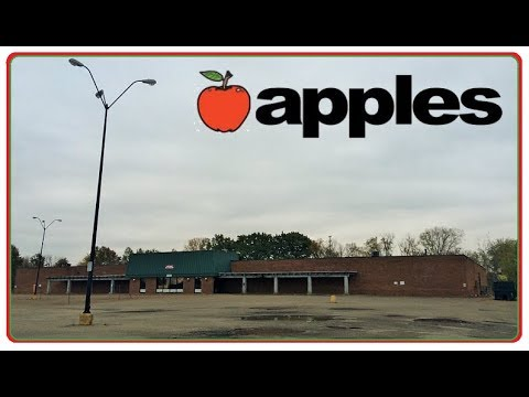 CREEPY ABANDONED APPLES SUPERMARKET GROCERY STORE