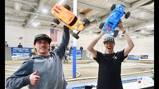 MY FIRST RC CAR RACE!!!!(complete carnage )