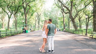 Savannah + Johnny Engagement   New York City - Central Park, Dumbo, Old Pier One