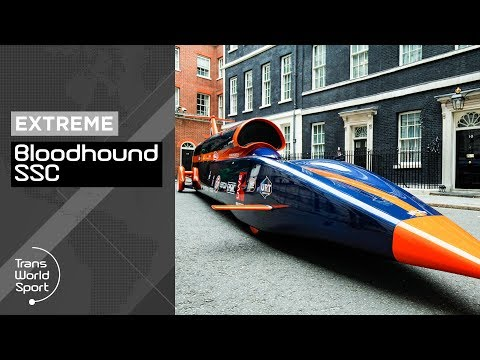 bloodhound ssc the 1000 miles per hour car youtube. Black Bedroom Furniture Sets. Home Design Ideas