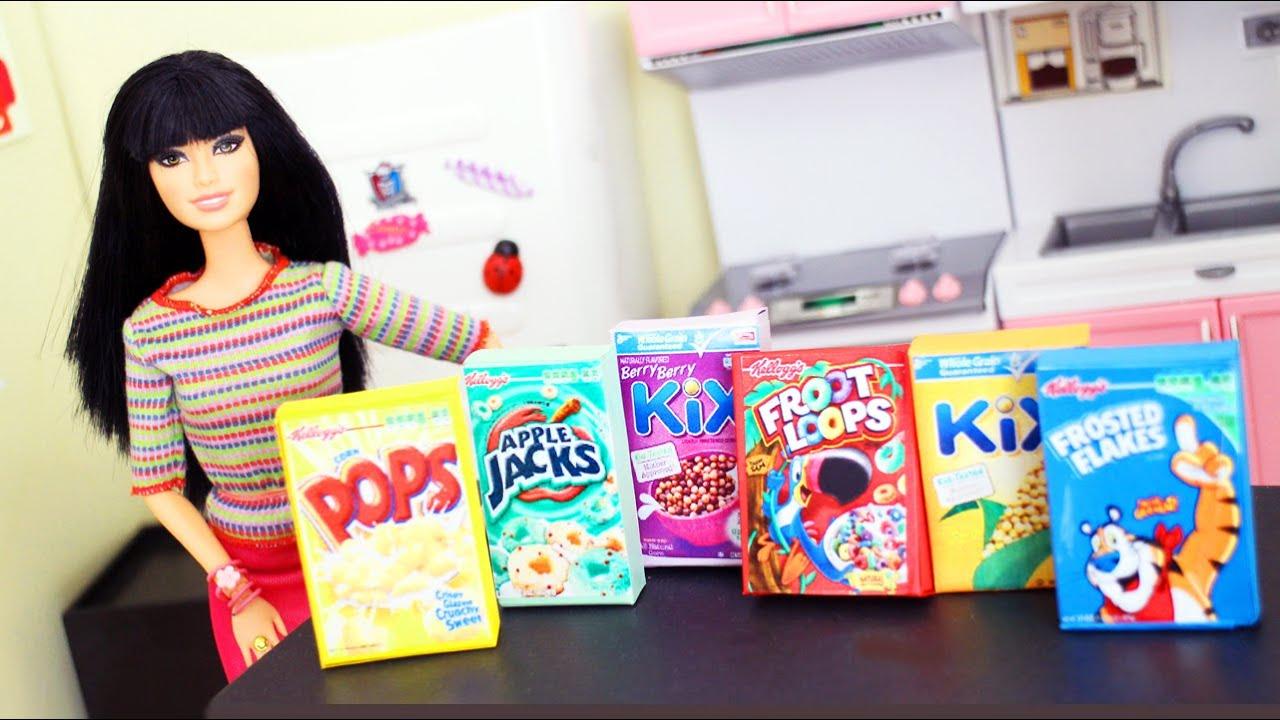 Cómo hacer cajas de cereales para tus muñecas - Manualidades para ...