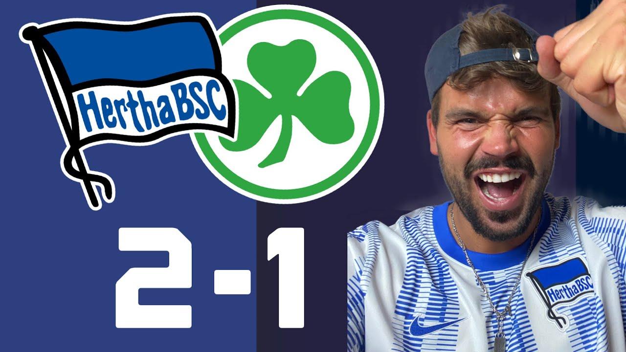 Download Hertha BSC - Greuther Fürth 2-1    Spielanalyse & Spielernoten