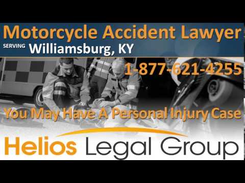 Williamsburg Motorcycle Accident Lawyer & Attorney - Kentucky