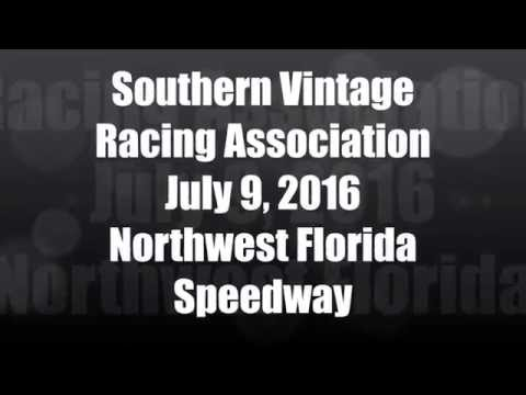 Southern Vintage Racing Association July 9, 2016 NWFL Speedway