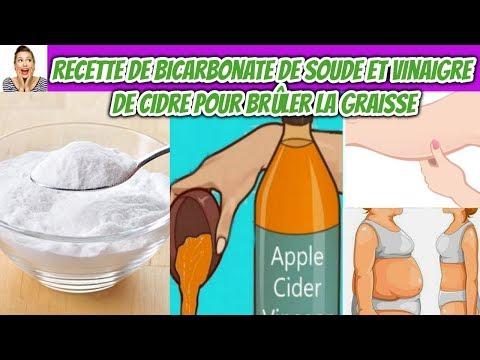 Recette De Bicarbonate De Soude Et Vinaigre De Cidre Pour Brûler La Graisse Du Ventre, La Cuisse ...