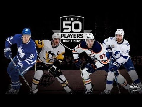 NHL Network Top 50 Players Right Now