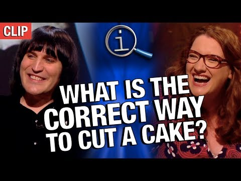 QI  What Is The Correct Way To Cut A Cake?
