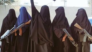 أخبار عربية -شاهد كيف يتنكر عناصر داعش بزي النساء للهروب
