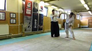munadori sankyo ura [TUTORIAL] Aikido empty hand basic technique
