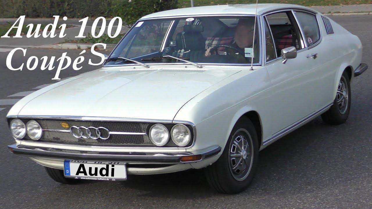Audi 100 Coupé S (1970-1973) auf der Straße - on the road - YouTube