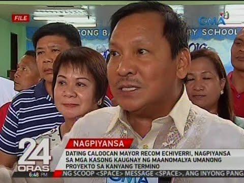 Recom Echiverri, nagpiyansa sa mga kasong kaugnay ng maanomalya umanong proyekto sa kanyang termino