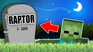 rey zombie  vs raptor  mike y sparta          minecraft mapa