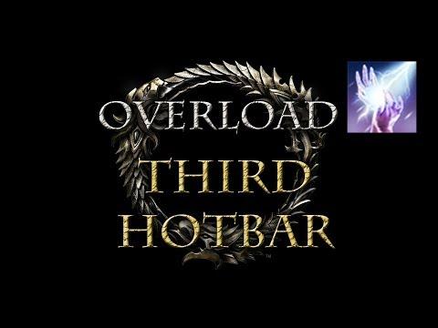 Elder Scrolls Online - Third Hotbar with Overload