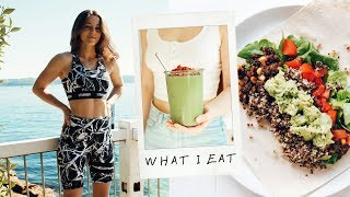 WHAT I EAT IN A DAY VEGAN + nutrition & calories (119g protein)