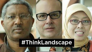 Reaching 1 billion by 2020 via #ThinkLandscape