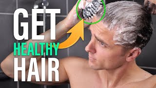 8 Healthy Hair Hacks For Men - SlikhaarTV