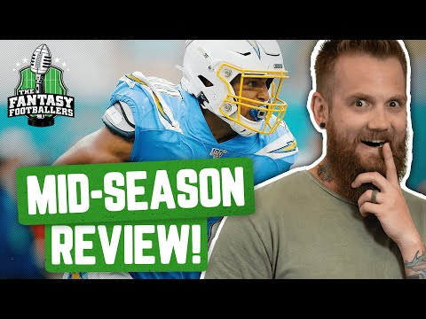 Fantasy Football 2019 - Week 8 Buy/Sell + Midseason Review & TNF Preview - Ep. #802