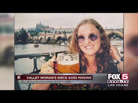 Las Vegas woman says niece missing in Cambodia