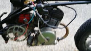 Transistor a la place du condensateur AV7(motobécane Mobyx )