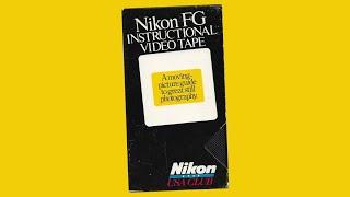 NIKON FG Camera Instructional Video [How to Use]